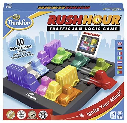 Think Fun 76336, Rush Hour, Juego de Logica, Version en Español, Juegos Educativos,...