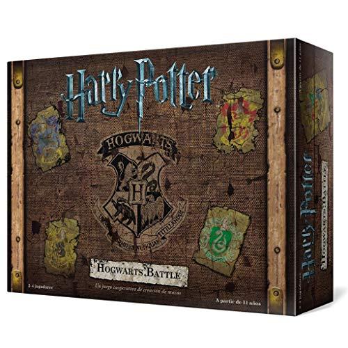 Usaopoly- Harry Potter Hogwarts Battle - Español, Multicolor, Talla Única...