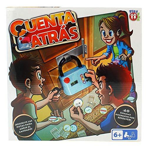 Play Fun-IMC Toys 98459 Cuenta Atrás-Juego escape room para niños, color/modelo...