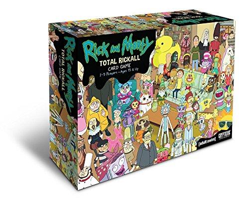 Rick and Morty Total Rickall Card Game