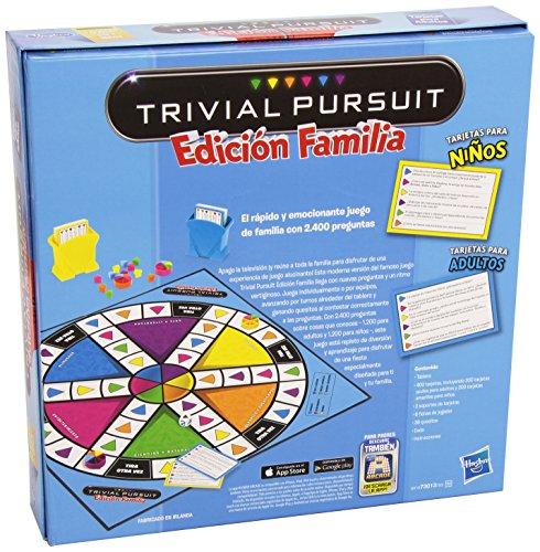 Hasbro - Juego de mesa Trivial, juego de familia (730137930)