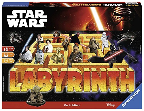 Star Wars - Laberinto, Juego de Mesa (Ravensburger 26666 1)
