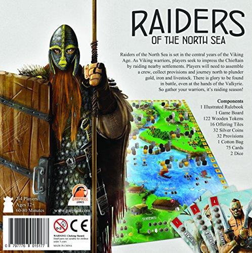 Renegade Games 585 Raiders of The North Sea - Juego de Cartas (en alemán)
