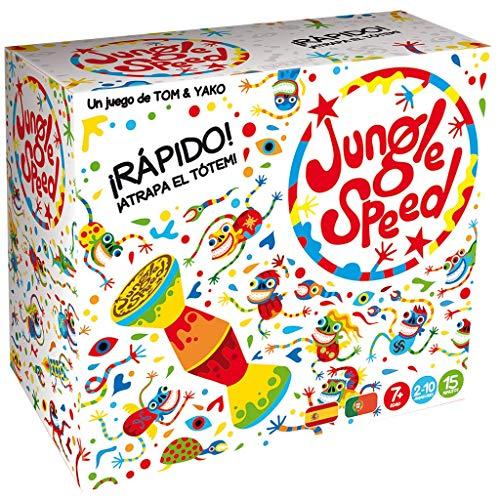 Asmodee Jungle Speed Skawk - Español, Edición 2019 (JSSKWA02ES) , color/modelo...