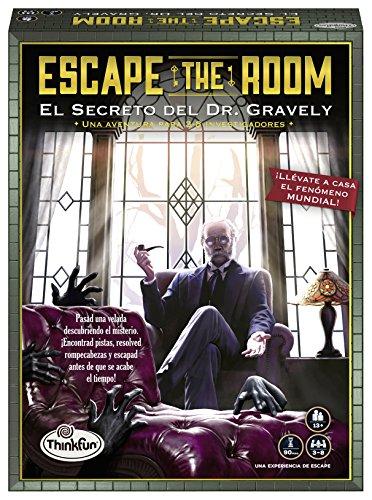 ThinkFun 76311, Escape The Room: Dr. Gravely, Juego de mesa, Versión en Español,...