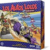 Edge Entertainment-Los Autos Locos el Juego de Mesa-Español, Color (EECMWR01)