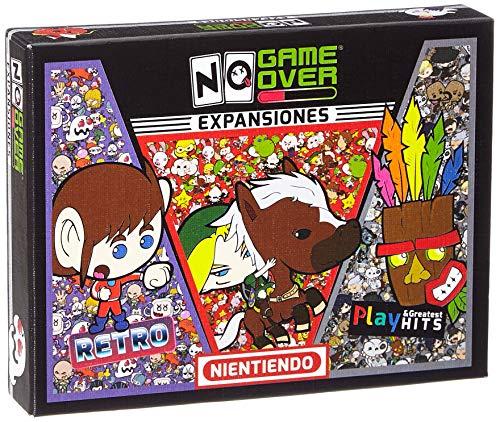 No Game Over 3 Pack Expansiones Juegos DE Mesa, Multicolor (710535488104)