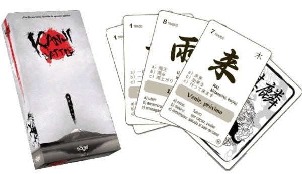 kanji battle juegos de mesa