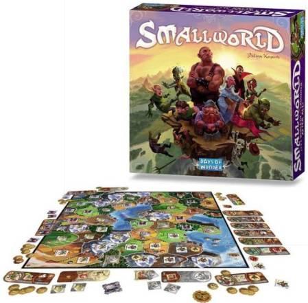 juego de mesa small world