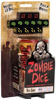 zombie dice juego de dados